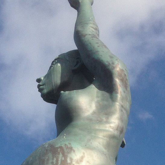 Verity by Damien Hirst